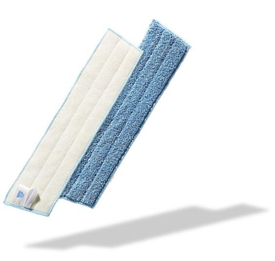 trocken und feuchtwischsysteme vikan damp mop 40 cm blue. Black Bedroom Furniture Sets. Home Design Ideas